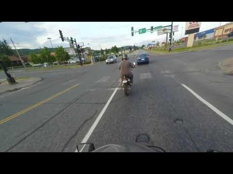 Suzuki drz400 ride and mystery woman
