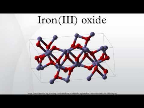 Iron(III) oxide