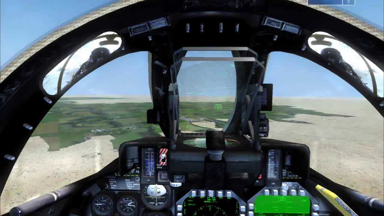 Scripted mission in FSX@War : AI Wingman Bombing