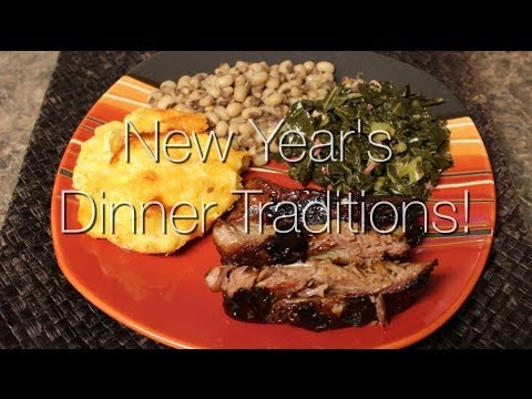 Cooking With Me! New Year's Day Dinner Traditions - YouTube