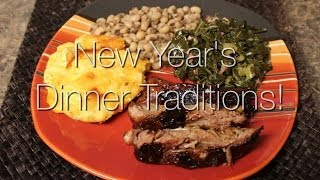 Cooking With Me! New Year's Day Dinner Traditions