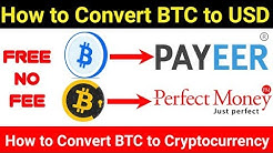 How  to convert BTC to USD Best Currency Converter With No Fee