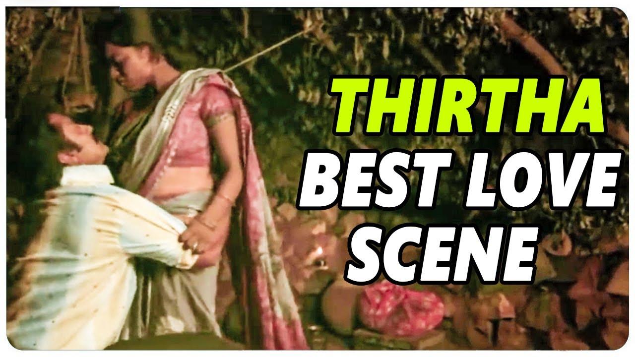 Sontha Ooru Movie  || Thirtha Best Love Scene||  Raja || Thirtha || L B  Sriram ||  Shalimarcinema