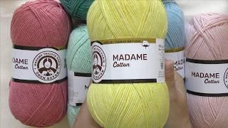 Kilka słów na temat...włóczki Madame Cotton