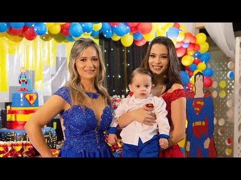 VLOG- SUPER FESTA DE 1 ANO DO KAUÃ - canal grávida aos 15 🎉❤️