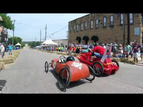 Marble Falls 8th annual adult soapbox derby 2017