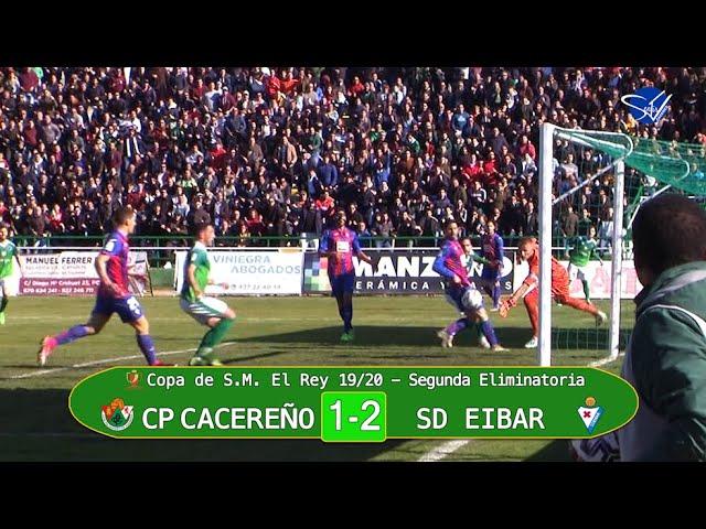 (OCULTO) Copa del Rey 19/20. 2ª Eliminatoria: CP Cacereño - SD Eibar (Resumen 90s)