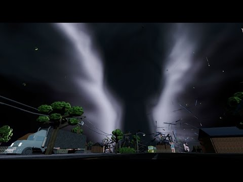 Tornado Destruction - 360 VR