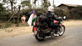 Hornbill festival : Northeast riders meet