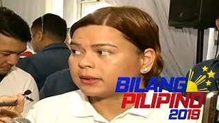 Sara Duterte, naglabas ng sariling deadline sa pagtakbong pangulo