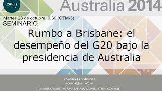 EN VIVO-Rumbo a Brisbane: el desempeño del G20 bajo la presidencia de Australia