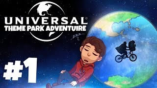 Universal Studios Theme Park Adventure - Part 1: E.T.