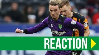 Hull City 4-3 Norwich City: James Maddison Reaction