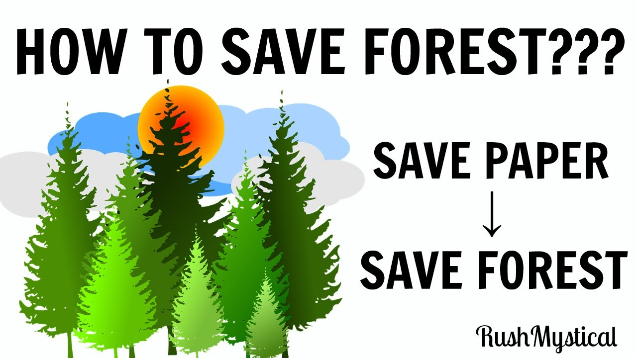 save forests To save forests, cut some trees down, scientists say by ula chrobak apr 21, 2017 , 2:00 pm forests are feeling the heat in places like the american west, rising temperatures and drought mean less water for trees, sometimes shriveling swaths of woodland.