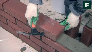 видео Разнообразие строительного кирпича для возведения стен