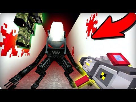 👽Вторжение инопланетян [ЧАСТЬ 1] Чужие в майнкрафт! - (Minecraft - Сериал)