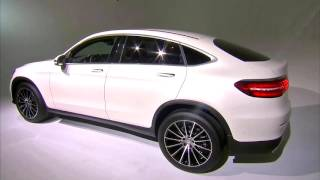 World Premiere Mercedes-Benz GLC Coupé. New York Auto Show 2016.