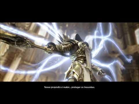 Diablo 3  - Ato II - O Sacrificio de Tyrael Cinematic Dublado Português