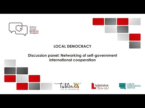 EEIC 2017 - Networking of self government international cooperation