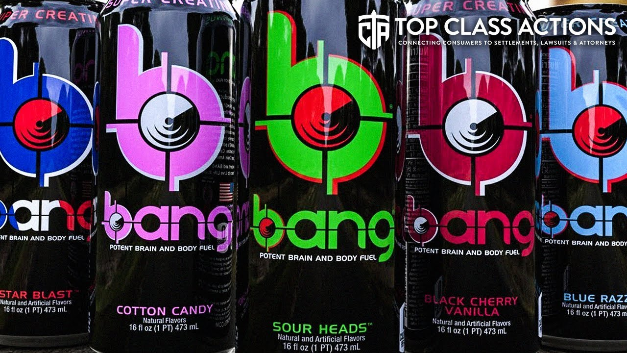 BANG Energy Class Action Says Drinks Don't Provide 'Body