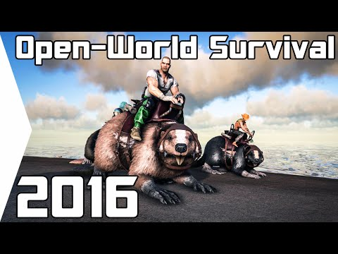 Top 5 BEST Open World Survival Crafting Games 2016 [PC]