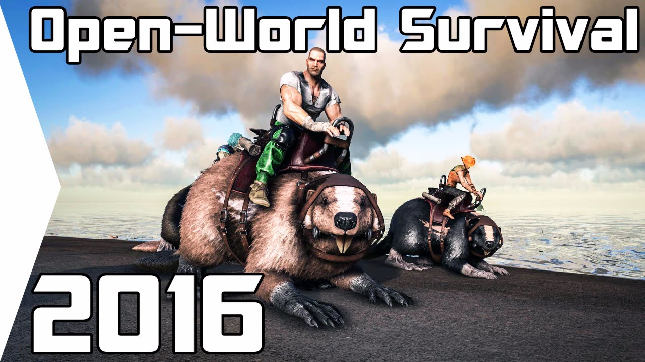 Top 5 best open world survival crafting games 2016 pc for Survival crafting games pc
