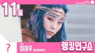 [랭킹연구소] 2019년 11월 걸그룹 순위 (여자아이돌 브랜드) | K-POP IDOL Girl Group…