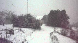 Neige du 5 février 2012 à Moissac (82)