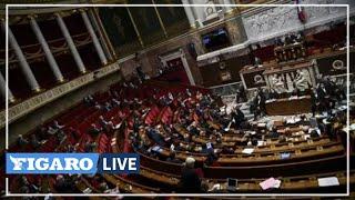 🔴Attaque au couteau à l'église Notre-Dame de Nice: la minute de silence à l'Assemblée nationale