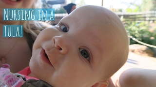 How to Breastfeed in a Tula Carrier! thumbnail