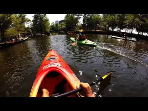 Kayak on Charles River - Boston