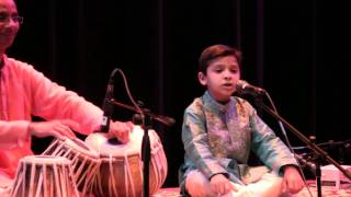 Arjun Sings Raag Yaman in 2011