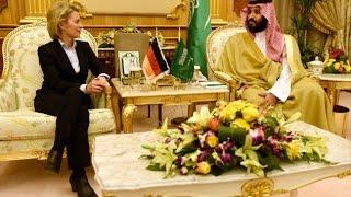 Tolak Pakai Hijab, Menteri Jerman Picu Kemarahan di Arab Saudi thumbnail