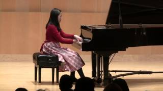 Rachel plays Spinnerlied by Mendelssohn op 67 No. 4 and El Torero by Catherine Rollin