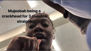 Me doing very UNPROFESSIONAL ASMR in my school's loud cafeteria.