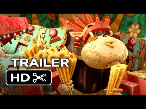 Thumbnail: The Book of Life Official Trailer #2 (2014) - Zoe Saldana Animated Movie HD