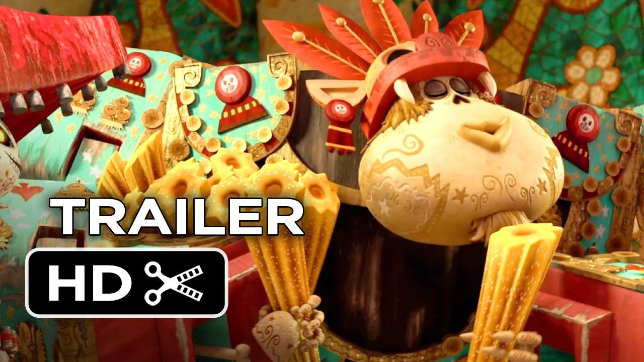 Download The Book of Life Official Trailer #2 (2014) - Zoe Saldana Animated Movie HD