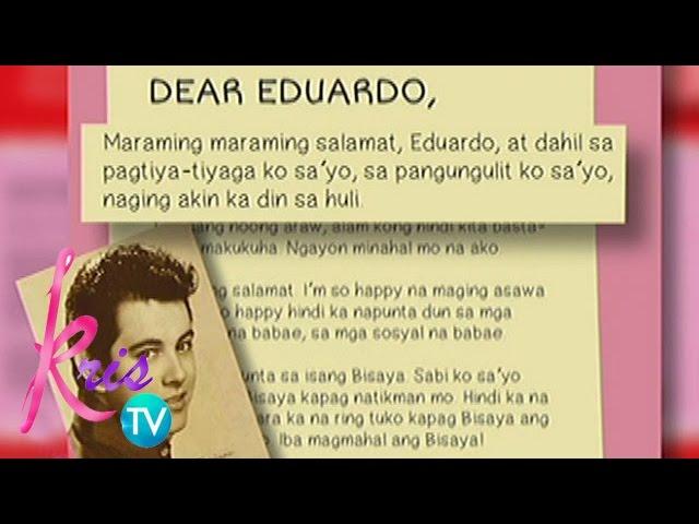 Kris TV: Annabelle's message to Eddie