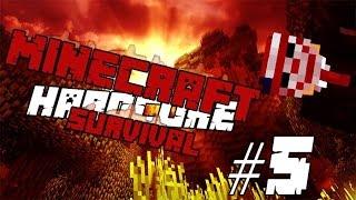 Minecraft Hardcore Survival 1.8 (Türkçe) #5.Bölüm - Fesatlık Başa Bela!