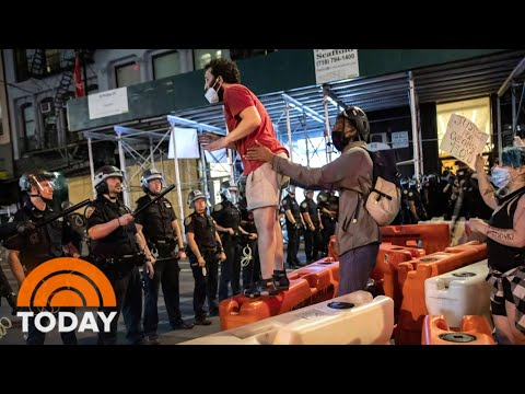 Nationwide Protests Lead To Unrest In Dozens Of Cities Across America | TODAY