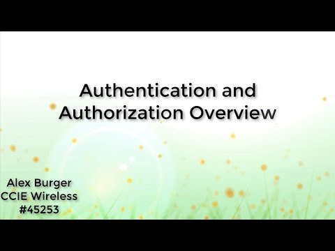 Authentication and Authorization Overview