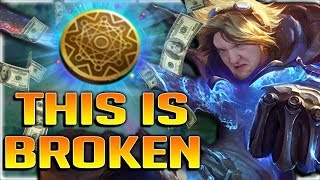 RIOT PLS NERF LOOT RUNE!! KLEPTOMANCY EZREAL IS BEYOND INSANE!! AP Ezreal Mid Gameplay - Patch 7.22
