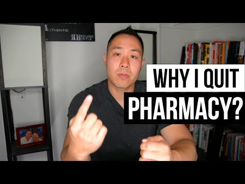 Why I quit pharmacy? (The HONEST truth)