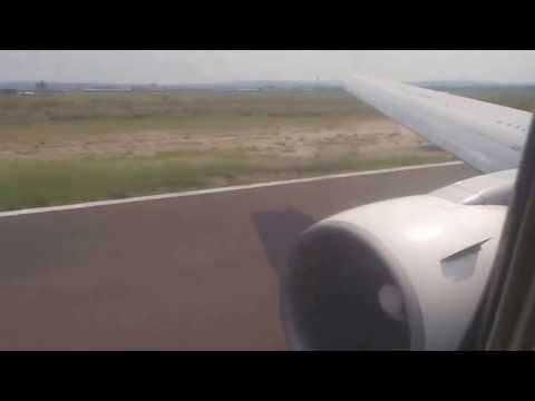 Ethiopian Airlines - Boeing 767 - Take Off From Congo Kinshasa.