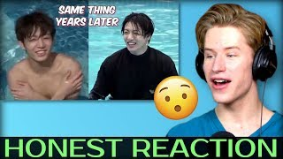 HONEST REACTION to bts doing the same things years later