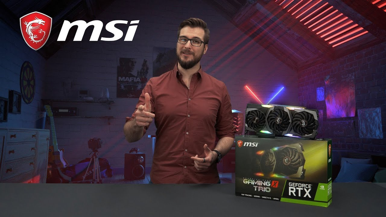 Play Hard, Stay Silent with RTX 20 GAMING X TRIO series | Gaming Graphics Card | MSI