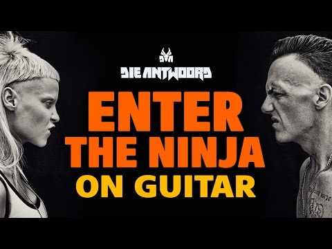 Die Antwoord – Enter the Ninja (fingerstyle acoustic guitar)