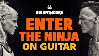 Die Antwoord – Enter the Ninja (fingerstyle acoustic guitar cover)