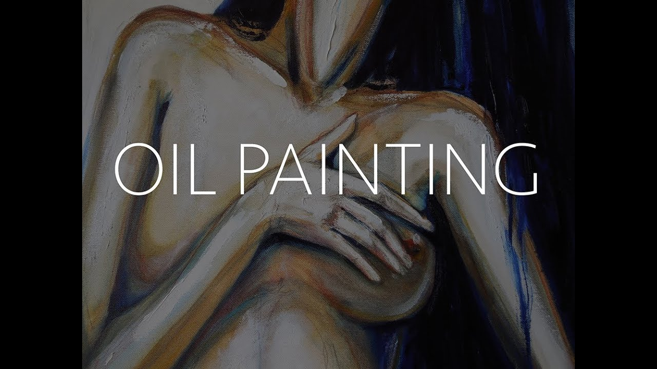 Female Body  Oil Painting By Julia Filament - Youtube-2174