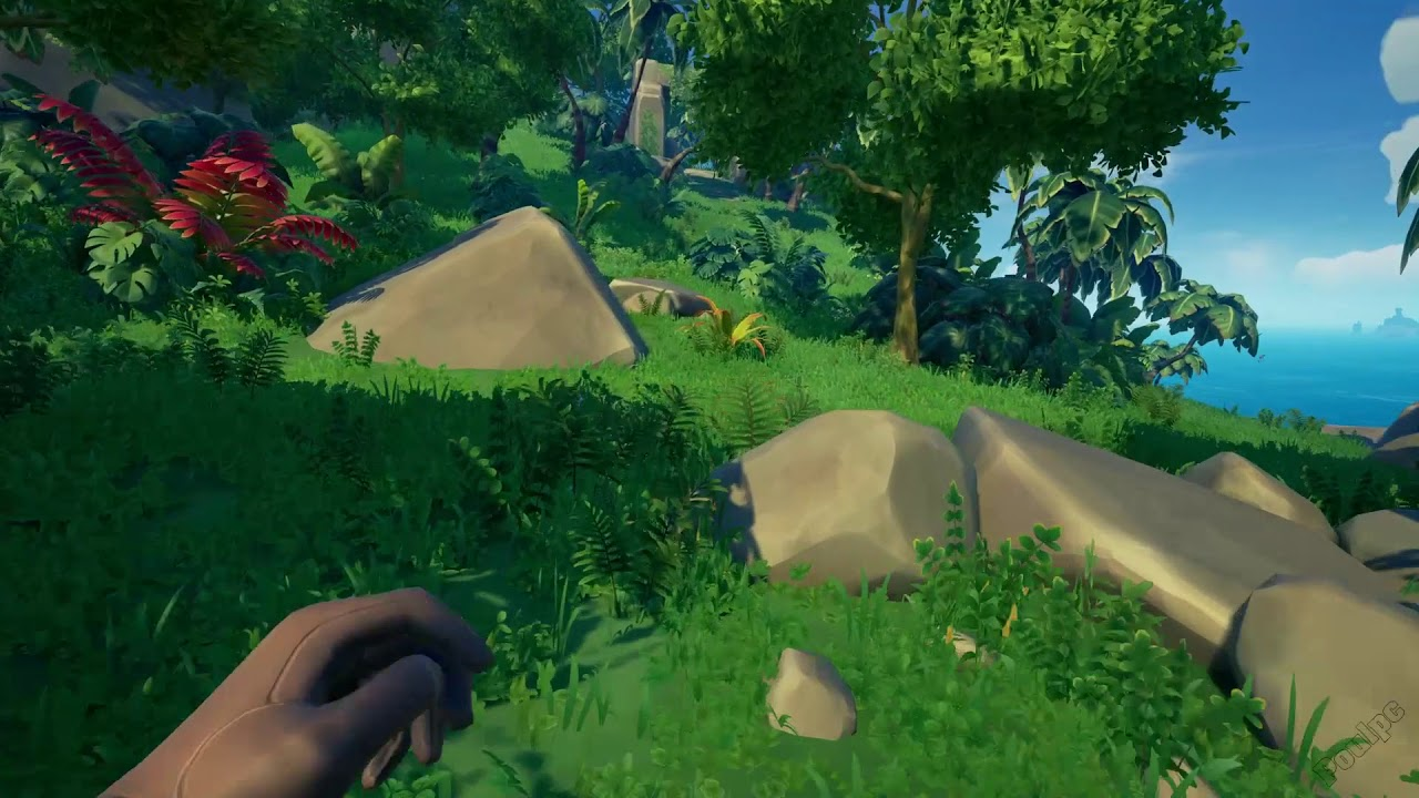 Plunder Valley Stone Gate [Sea Of Thieves]